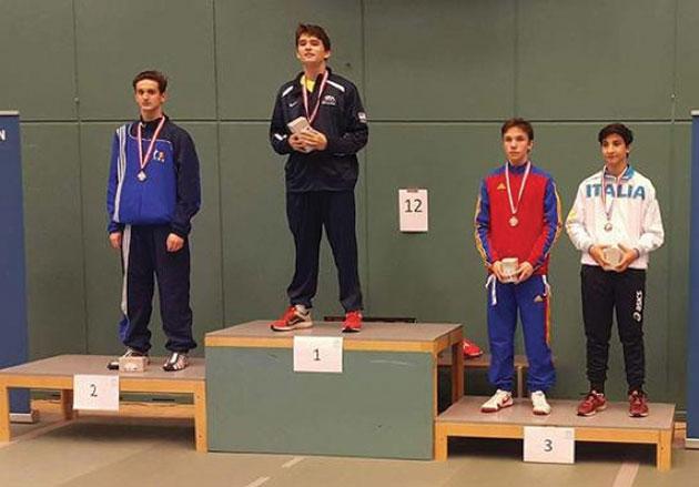 Romanian Wins Silver At European Cadet Circuit In Denmark